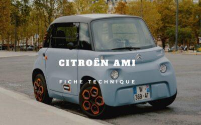 Des avis à la fiche technique, tout sur la Citroën Ami